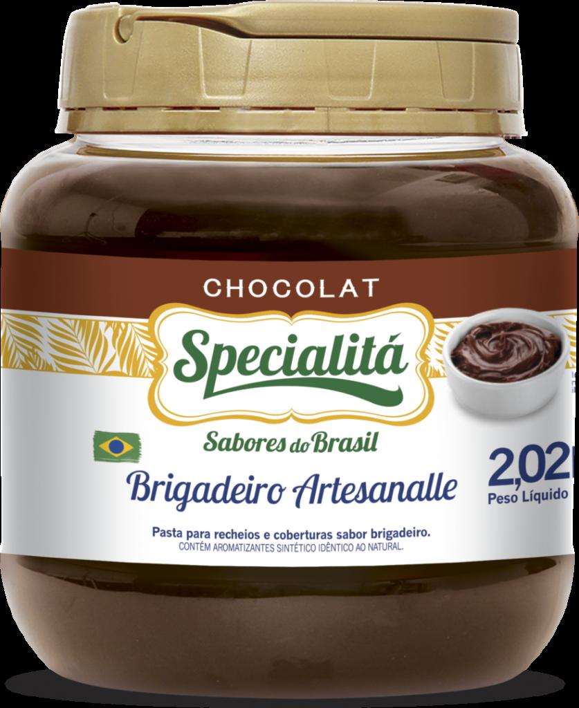 Pasta Chocolat Brigadeiro Artesanalle