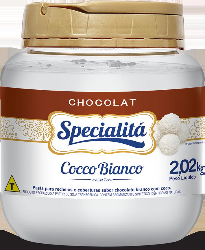 Pasta Chocolat Cocco Bianco