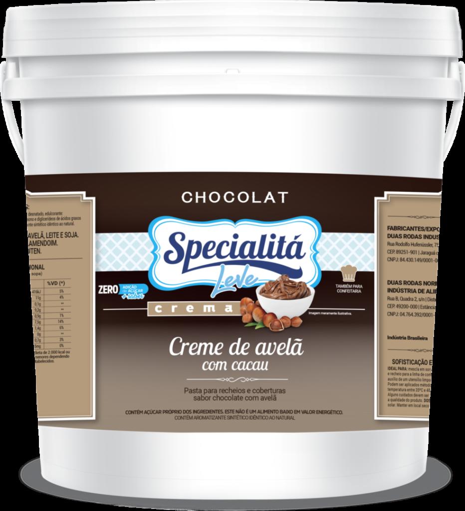 Pasta Chocolat Crema Creme de Avelã com Cacau