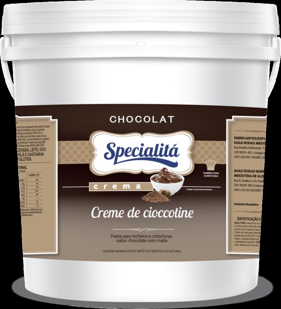 Pasta Chocolat Creme de Cioccotine