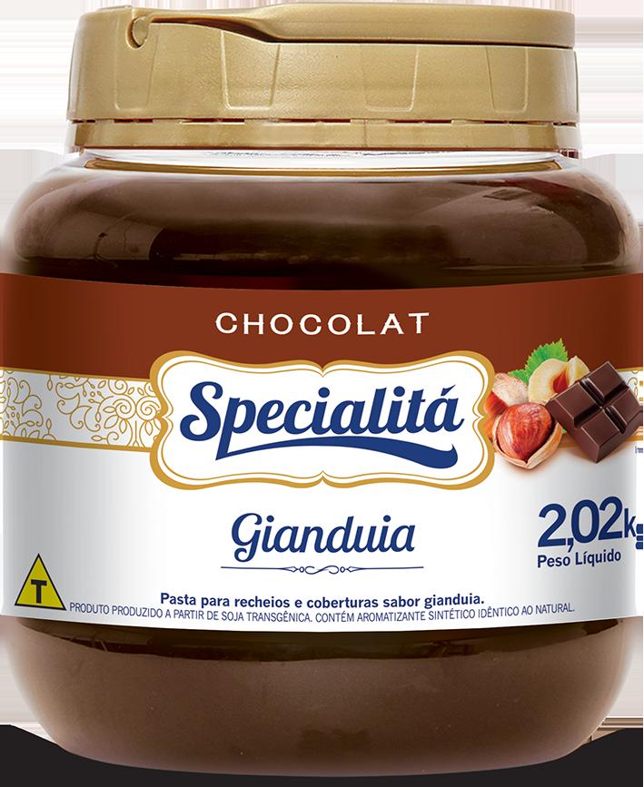 Pasta Chocolat Gianduia