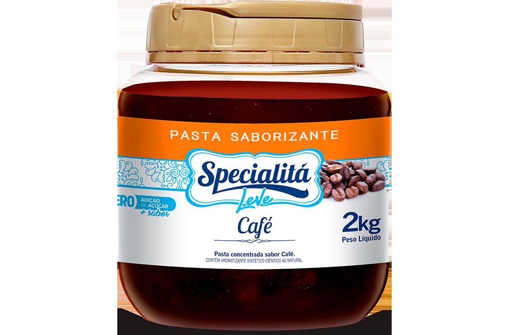 Pasta Saborizante Café Zero Adição de Açúcar