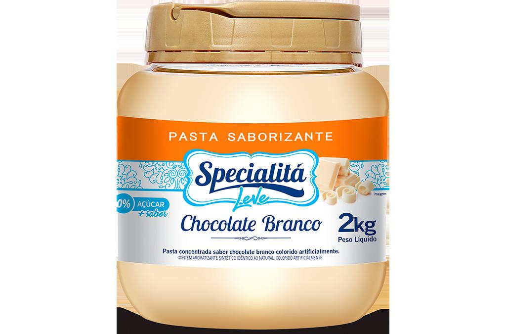 Pasta Saborizante Chocolate Branco Zero Adição de Açúcar