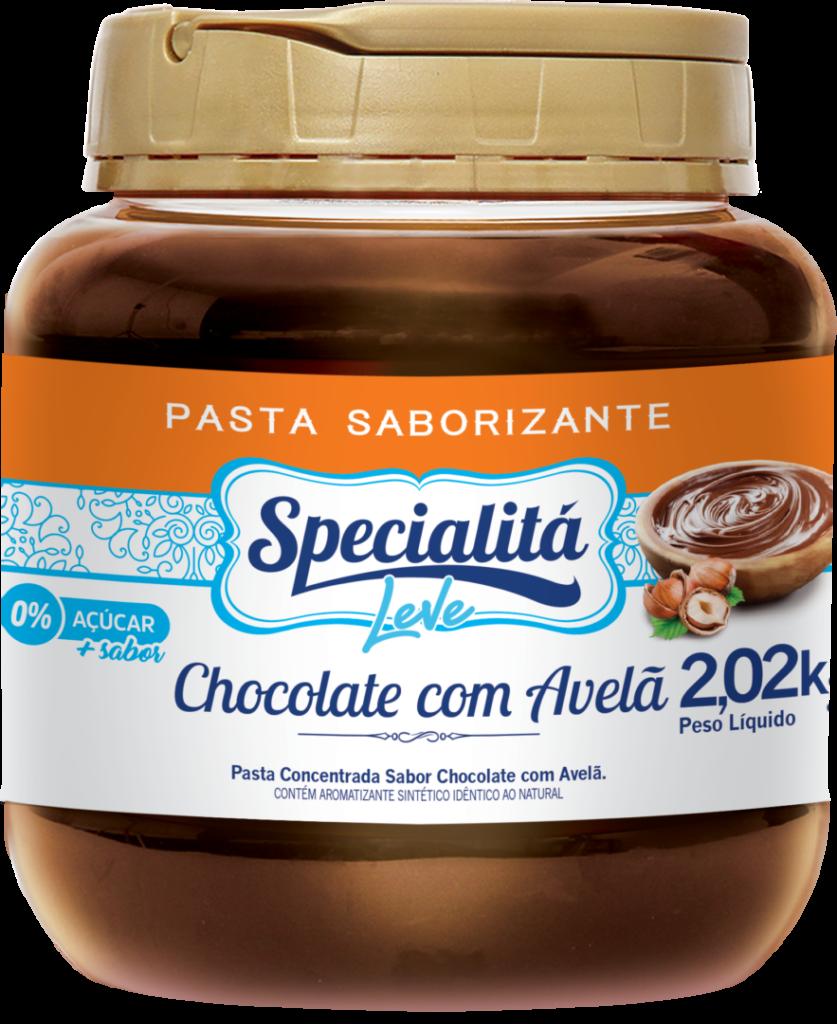 Pasta Saborizante Chocolate com Avelã