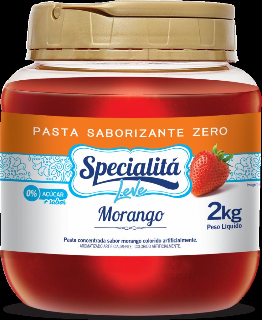 Pasta Saborizante Morango Zero Adição de Açúcar